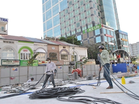 Vận hành thử quảng trường đi bộ đầu tiên tại TPHCM