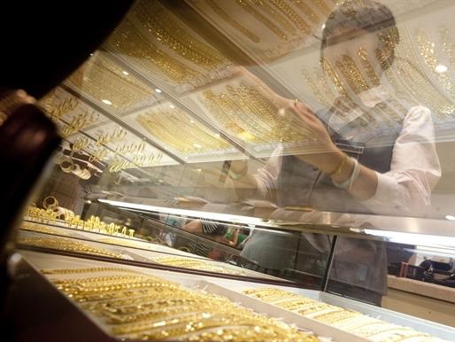 Nhập khẩu vàng của Trung Quốc từ Hong Kong thấp nhất 6 tháng