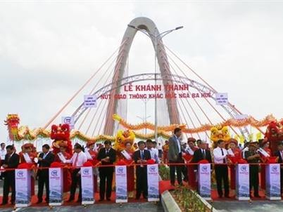 Đà Nẵng: Khánh thành nút giao thông 3 tầng quy mô hơn 2.000 tỷ