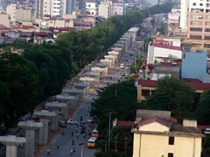 Đường sắt Cát Linh–Hà Đông đã tăng vốn 250 triệu USD