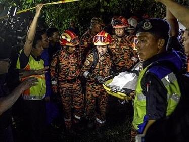 Trực thăng Malaysia không phát tín hiệu cấp cứu trước khi rơi