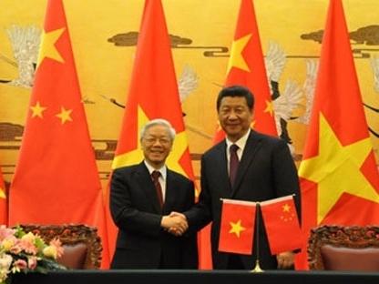 """Việt - Trung """"cùng kiểm soát tốt bất đồng trên biển"""""""