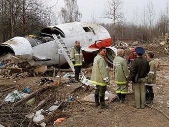 Tiết lộ chấn động vụ máy bay Tổng thống Ba Lan rơi