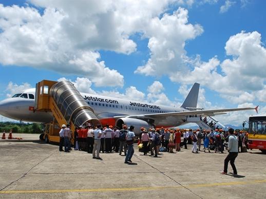 Jetstar Pacific mở bán vé đường bay mới TP.HCM – Chu Lai