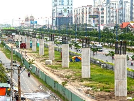 CBRE: Giá đất quanh tuyến Metro TPHCM sẽ tăng 10-20%