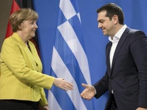 Bà Merkel: Sẽ không để Hy Lạp cạn tiền
