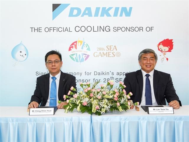 Daikin tài trợ 1 triệu SGD cho SEA Games lần thứ 28