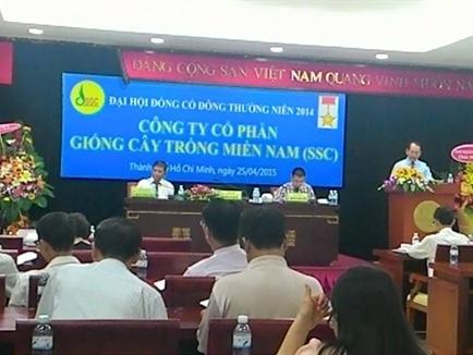 ĐHCĐ SSC: Đề xuất trả cổ tức 30% năm 2014 dù không hoàn thành kế hoạch