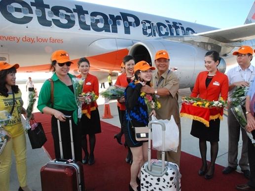 Jetstar Pacific tăng chuyến bay đến Tuy Hòa