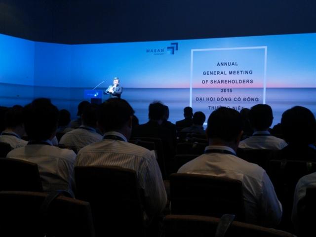 ĐHCĐ MSN: Masan Nutri-Science đặt kế hoạch doanh thu 1 tỷ USD năm 2015