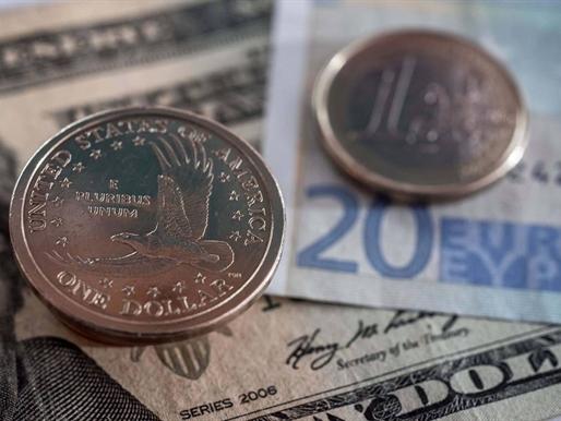 USD lên cao nhất 2 tuần so với yên, euro giảm