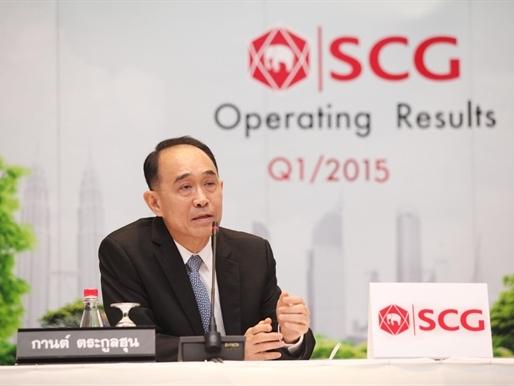 SCG báo cáo kết quả hoạt động kinh doanh Quí I/2015