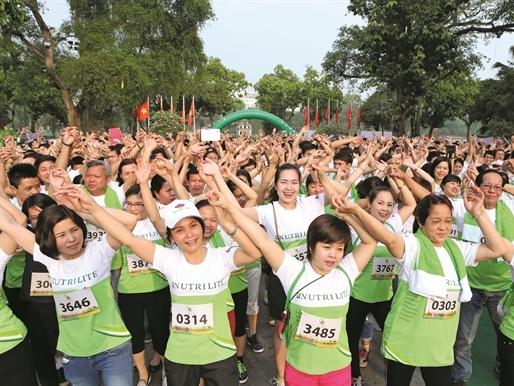 Amway nâng tầm sức khỏe người Việt
