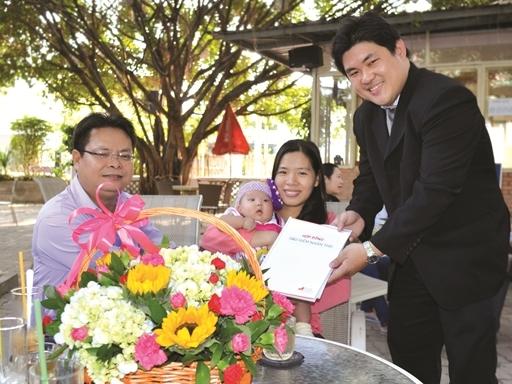 Quà tặng của Great Eastern cho trẻ sơ sinh Việt Nam