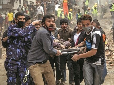 Ứng dụng công nghệ để cứu mạng người ở Nepal