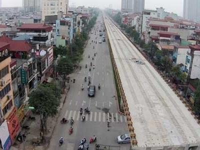 Tổng thầu Trung Quốc tuyến đường sắt Cát Linh lại bị nhắc nhở