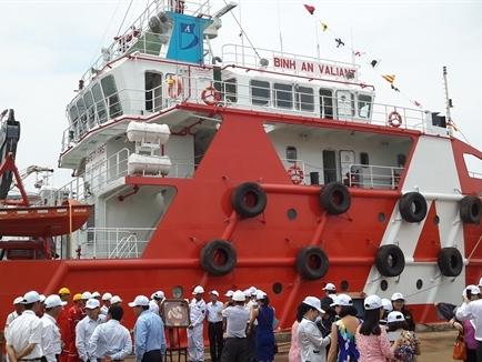 Bàn giao tàu Bình An Valiant trị giá 8 triệu USD cho Bình An Shipping