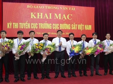 Kết quả kỳ thi Cục trưởng Cục Đường sắt Việt Nam