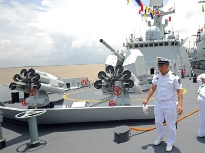 Trung Quốc - Nga bắt đầu tập trận chung tại Địa Trung Hải