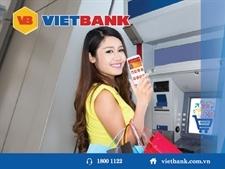 Rút tiền mặt không cần thẻ với VietBank Cardless