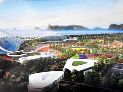 Quảng Ninh tính xây khu thương mại ngầm dưới lòng thành phố Hạ Long