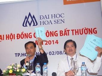 TP HCM chưa công nhận Hội đồng quản trị mới của ĐH Hoa Sen