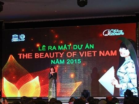 Ra mắt dự án The Beauty of Việt Nam