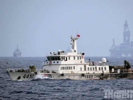 Trung Quốc lại đưa giàn khoan Hải Dương-981 xuống Biển Đông