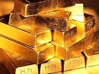 Giá vàng lên cao nhất 5 tuần khi USD đi xuống