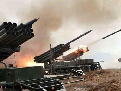 Triều Tiên diễn tập bắn đạn thật giáp biên giới Hàn Quốc