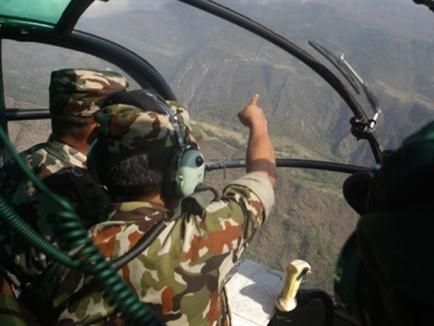 Tìm thấy xác trực thăng Mỹ mất tích ở Nepal
