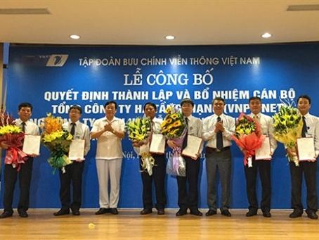 VNPT thành lập 3 Tổng công ty trực thuộc