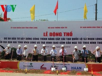 Nâng cấp, cải tạo Quốc lộ 53 qua Vĩnh Long, Trà Vinh