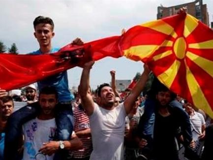 Biểu tình quy mô lớn tại Macedonia đòi Chính phủ từ chức