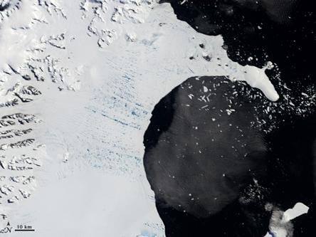 Thềm băng 12.000 năm tuổi sắp biến mất