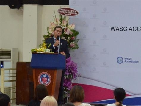 Trường quốc tế TAS được chứng nhận bởi Hiệp hội giáo dục WASC của Mỹ