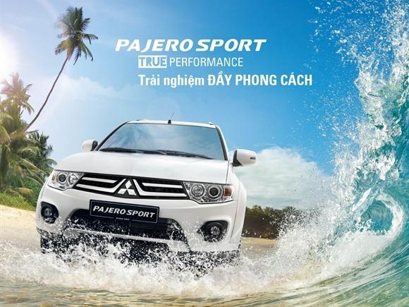 Hành trình Pajero Sport chinh phục Việt Nam 2015
