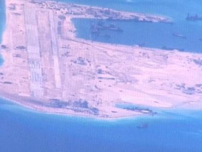 Hải quân Trung Quốc xua đuổi máy bay trinh sát Mỹ trên Biển Đông