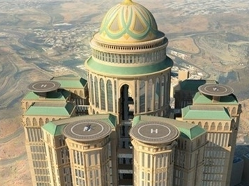 Ả Rập Saudi xây khách sạn lớn nhất thế giới