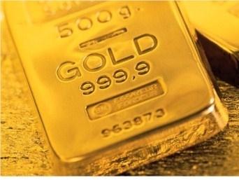 Giá vàng xuống thấp nhất 2 tuần
