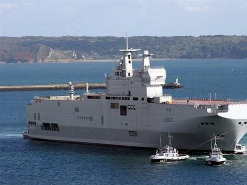 Nga hủy thương vụ tàu chiến hơn 1 tỷ USD với Pháp