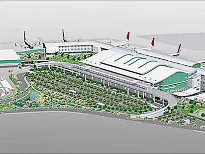 Địa ốc Hòa Bình trúng thầu thi công Nhà ga T2 Tân Sơn Nhất mở rộng