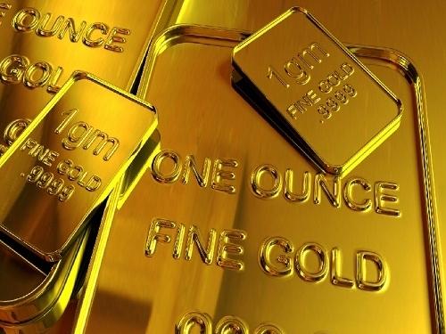 Giá vàng tăng khi USD, chứng khoán giảm