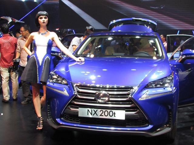 Toyota Việt Nam chính thức ra mắt Lexus NX200t