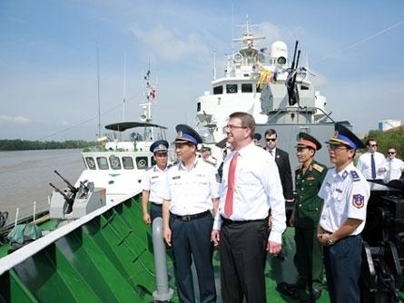 Hôm nay, Việt Nam - Mỹ ra tuyên bố hợp tác quốc phòng