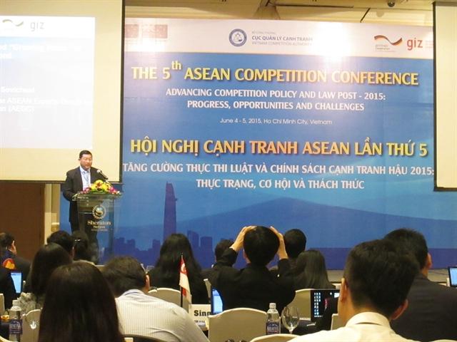 Hội nghị cạnh tranh ASEAN lần thứ 5 tại TP. Hồ Chí Minh