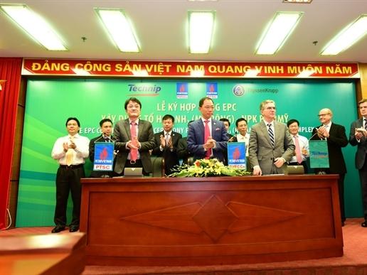 Đầu tư 5.000 tỷ đồng xây Tổ hợp NH3 - Nhà máy NPK Phú Mỹ