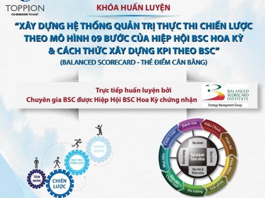 Chương trình Huấn luyện về Balanced Scorecard của Toppion
