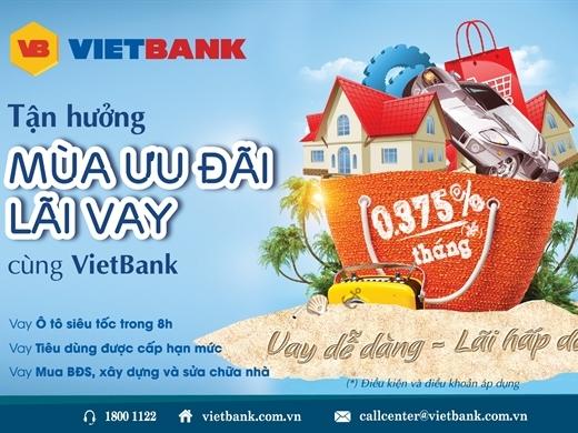 VietBank ra mắt các gói cho vay ưu đãi mới