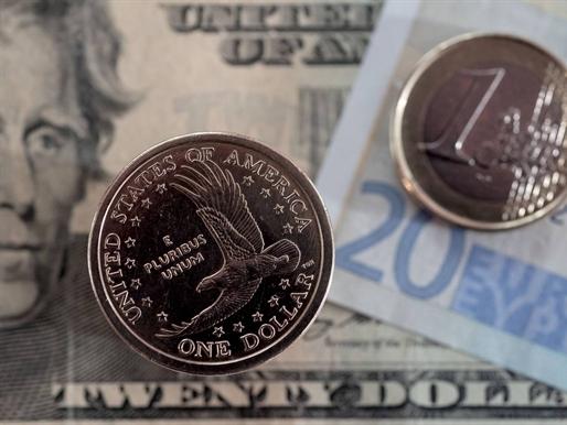 USD ghi nhận tuần giảm giá so với euro, yên